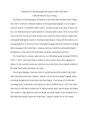 Ben Teach English-Span n US Essay+COM+150.docx