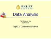 Topic 3 - Confidence Interval