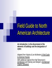 Field Guide to North American Architecture (1).ppt