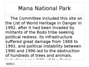 Mana National Park