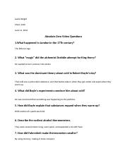 Absolute Zero Questions. - Leslie Wright Chem 1405 Absolute Zero ...