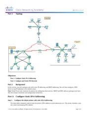 10.2.2.8 Packet Tracer - DNS and DHCP Instructions