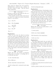 Quest 9 - Chapter 10 and 11 - Torque & Angular Momentum Solutions