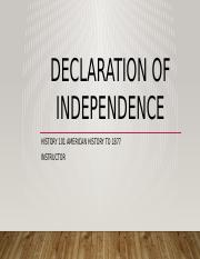 Declaration of Independence.pptx
