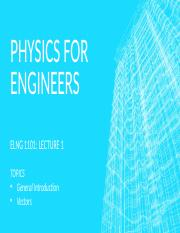 Physics for engineers lectures 1.pptx