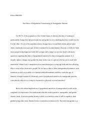 transgender essay for my paper i decided to write about a  other related materials