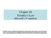Chapter 29 lecture