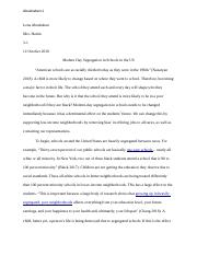 AP Lang Essay Final Draft