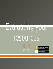 Evaluating your resources1.pptx
