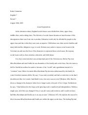 Great Expectations Essay