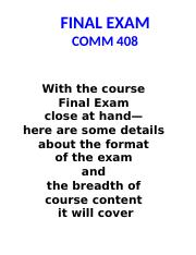 2017 - 10B   _Monroe_  PPT - FINAL EXAM - Information & Review Notes  _Rev for 2017_