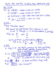 Homework 2 Solution on Fundamentals of Arithmetic