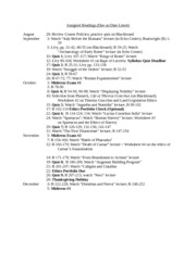 Fall 2013 CC 302 Assigned Readings