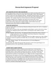 Worksheet - Researched Argument Proposal.docx