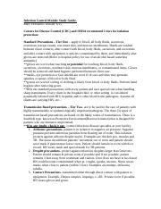 Infection Control Module Study Guide (1).doc