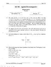 382 Homework4 Solutions