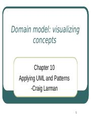 applying uml and patterns by craig larman 3rd edition ppt