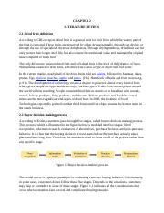 Purchase decision literature review