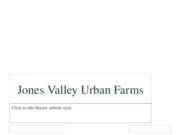 Jones Valley Urban FarmsI