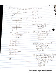 MATH 107 Functions Notes And Practice Problems