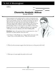 character analysis Atticus.pdf
