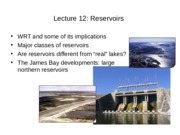 Lect 12 & 12a Reservoirs Hg_with notes