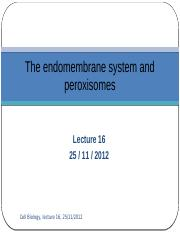 Lecture 16- The endomembrane system and peroxisomes.pptx