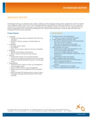 XO Managed Server Product Datasheet