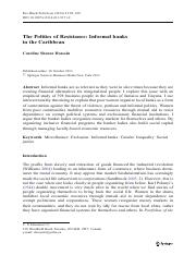 The Politics of Resistance- Informal banks in the Caribbean.pdf