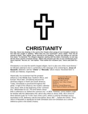 INTRO to Christianity Module
