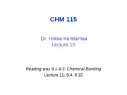 10CHM11509 HIK full lecture