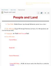 People and Land - BIB 222 Old Testament Introduction (Fall 2016, Lyons).pdf