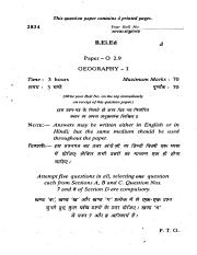 (www.entrance-exam.net)-Delhi University B.El.Ed Paper O-2.9 Geography-I Sample Paper 2.pdf