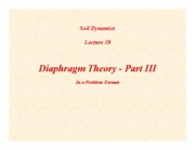 SD-Lecture18-Diaphragm Theory-III