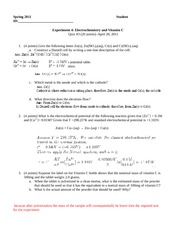Chem100A_Exp4_Electrochem&VitaminC_Quiz_20110420-KEY
