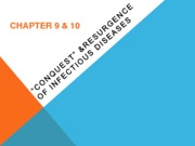 Week 4b Infectious Diseases Ch. 9 & 10