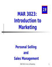 MAR3023_Chapter 19_Selling (1)