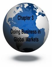 Chapter 3 - Global Markets.pptx