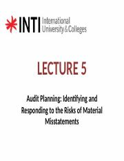 LECTURE 7_AUDIT PLANNING_revised_student copy
