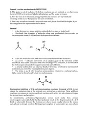 CHEM 3320H Lecture Organic reaction mechanisms in CHEM 3320H