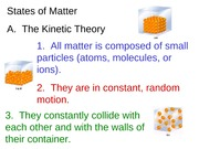 States of Matter A