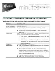 ACTY7212 - Assessment 1 Group Article Critiques - sem 1-2016 - Final copy.docx