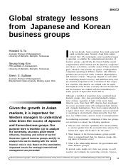 0301 Global Strategy lessons from Japanese and Korean business groups.pdf