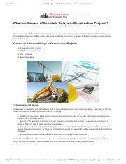What are Causes of Schedule Delays in Construction Projects_.pdf