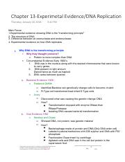 Chapter 13-Experimetal EvidenceDNA Replication.pdf