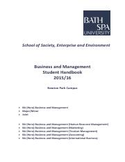 BA Business and Management Student Handbook 2015-16 pdf.pdf