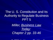PPT_5_Class_5_POST_US_Constitution_Ch_2_