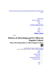 145425733-History-of-Advertising-and-It-s-Affect-on-Popular-Culture