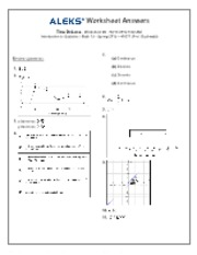 worksheet6 answers