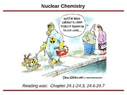 Nuclear Chemistry - part 1